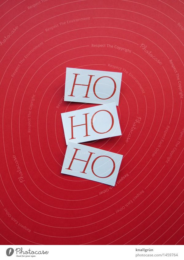 ho ho ho Characters Signs and labeling Communicate Sharp-edged Cliche Red White Emotions Moody Joy Happiness Joie de vivre (Vitality) Anticipation