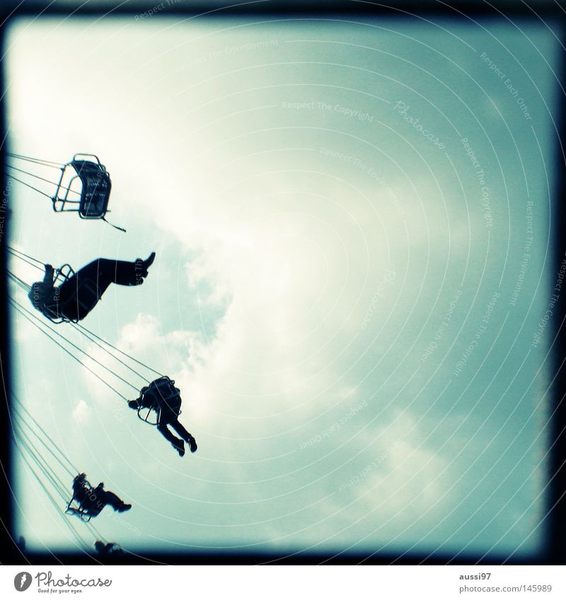 Always springtime Analog Viewfinder Fairs & Carnivals Theme-park rides Showman Bordered Frame Chairoplane Oktoberfest Vertigo Exhibition ttv Lightshaft