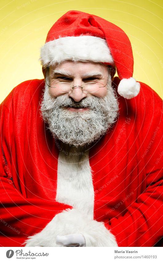 Bath Christmas Christmas & Advent Masculine Man Adults Male senior 1 Human being 45 - 60 years Workwear Cap Gray-haired Facial hair Beard Threat Dark Creepy
