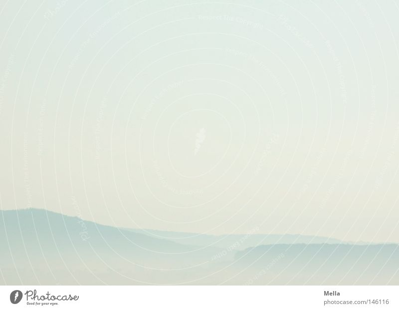 Nature Sky Blue Far-off places Freedom Landscape Air Bright Fog Environment Free Fresh Vantage point Natural Hill Haze