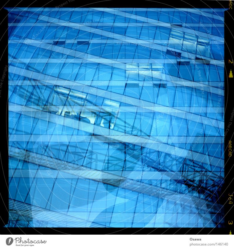 Water Blue Window Architecture Building Waves Background picture Facade 3 Swimming pool Tile Square Alcohol-fueled Interest Mixture