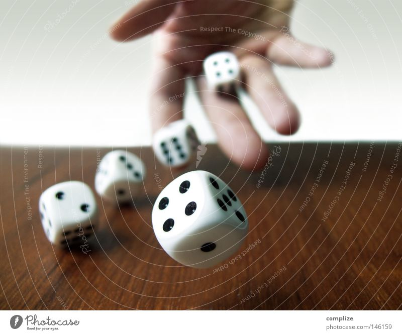 Man Hand Adults 1 Playing Wood Parlor games Happy Jump Game of chance 2 Work and employment Dice Player Tall 3