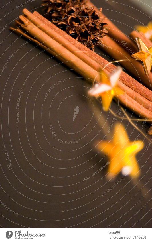 Christmas & Advent Herbs and spices Star (Symbol) Decoration Creativity Embellish Christmas decoration Cinnamon
