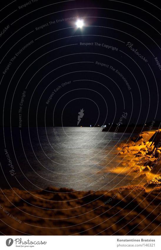 Water Beautiful Ocean Summer Beach Vacation & Travel Calm Loneliness Dark Relaxation Dream Think Sand Landscape Orange Waves
