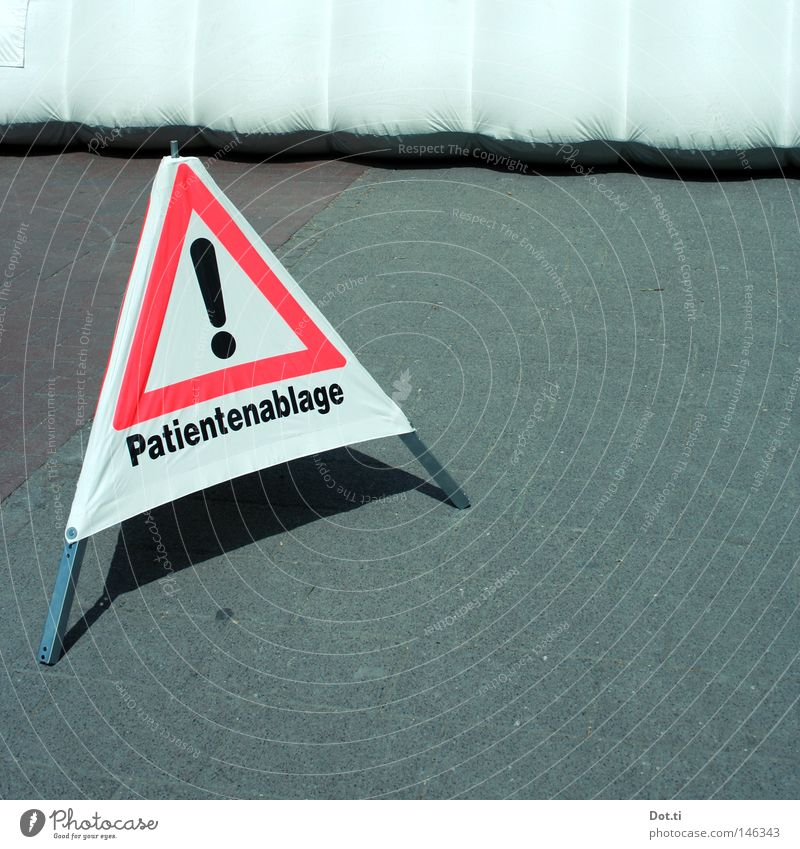 White Red Street Gray Healthy Signs and labeling Help Characters Asphalt Illness Letters (alphabet) Health care Signage Typography Barrier