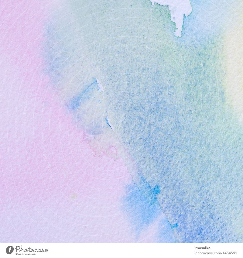blue and pink watercolor on textured paper background Blue Green Calm Style Background picture Art Pink Design Dream Contentment Elegant Idea Paper