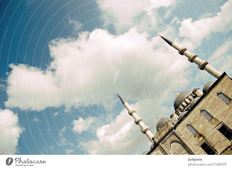 Sky Summer Clouds Autumn Religion and faith Art Church Culture Prayer God Turkey Deities Islam Istanbul