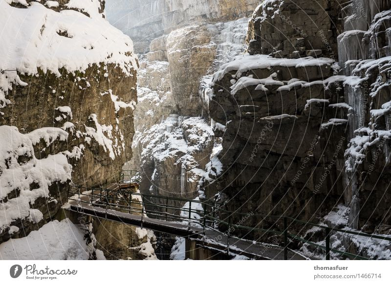 Sky Nature Vacation & Travel Landscape Calm Winter Mountain Lanes & trails Snow Rock Tourism Ice Fear Hiking Trip Fantastic