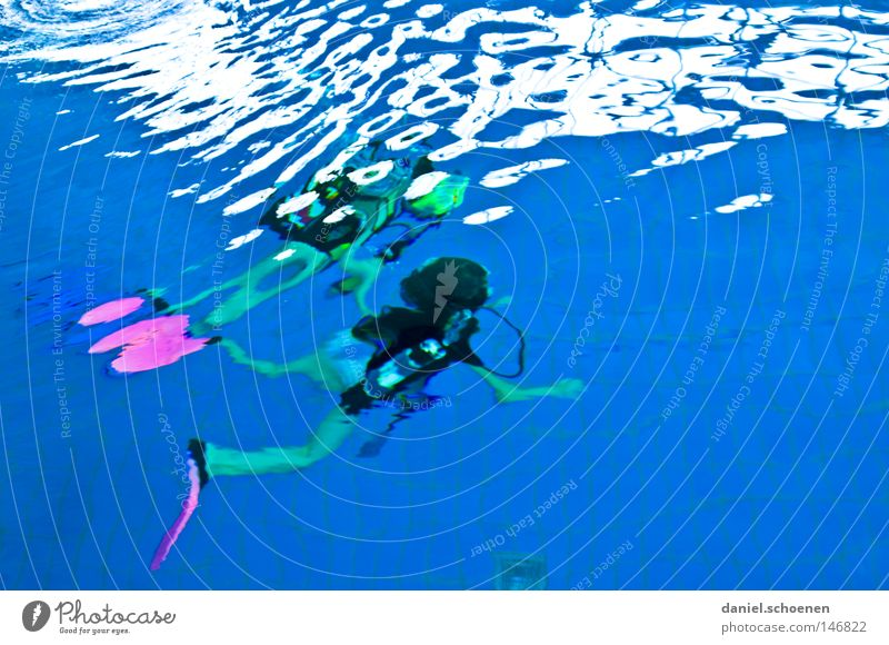Water Ocean Blue Sports Playing Movement Air Waves Dive Unclear Aquatics Weightlessness