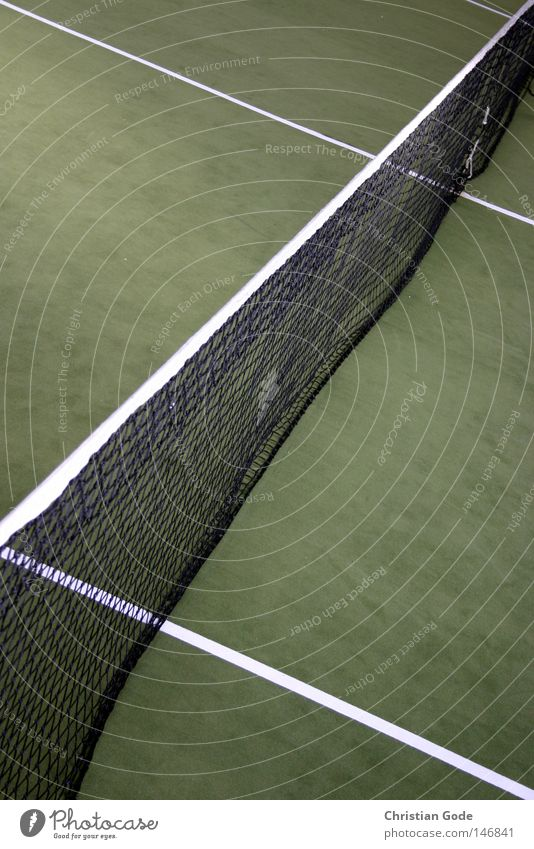 White Green Winter Sports Playing Jump Line Leisure and hobbies Speed Success Ball Net Diagonal Hall Tennis Carpet