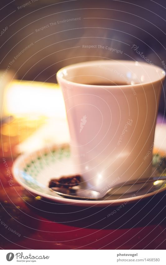 coffee scent Nutrition Breakfast Beverage Hot drink Coffee Crockery Cup Spoon Fragrance Relaxation To enjoy Drinking Fluid Delicious Contentment
