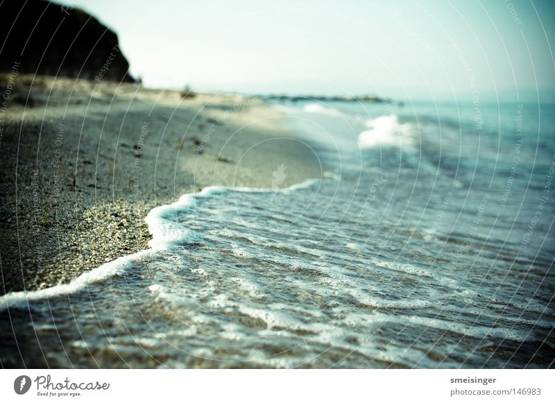 Water Ocean Summer Beach Vacation & Travel Relaxation Freedom Warmth Contentment Coast Waves Trip Tourism Leisure and hobbies Joie de vivre (Vitality)