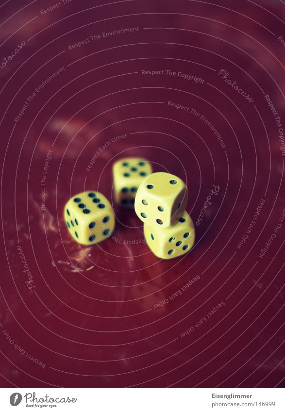 dice game Leisure and hobbies Playing Table Digits and numbers Retro Meter 4 Happy Game of chance Reflection Deserted Crap game Lie Consecutively Blur