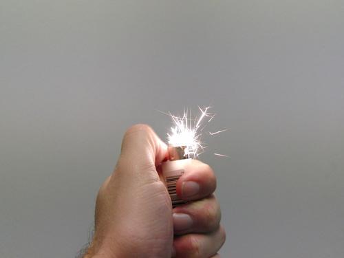 Firestarter! Lighter Blaze Spark Gasoline Flame Explosion Obscure tongue of flame firestarter
