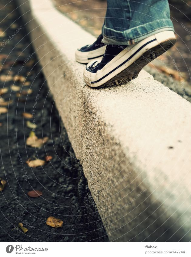Woman Human being Calm Leaf Street Cold Autumn Freedom Stone Sneakers Sadness Feet Park Warmth Air Footwear