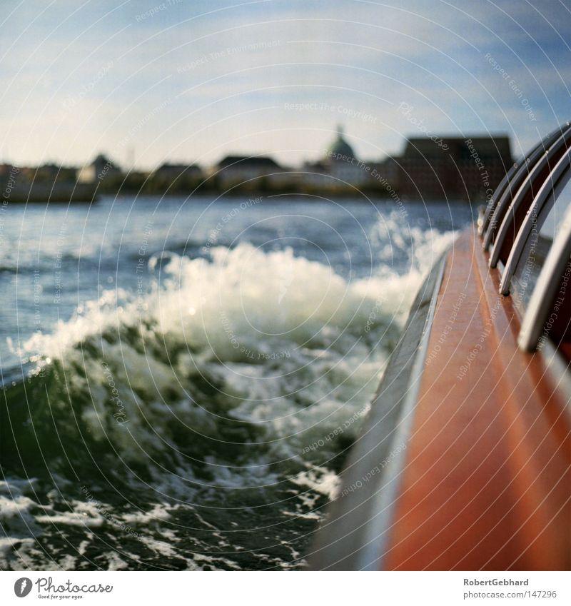 Water Blue Wood Watercraft Brown Waves Europe Driving Navigation Inject Denmark Medium format Copenhagen Excursion