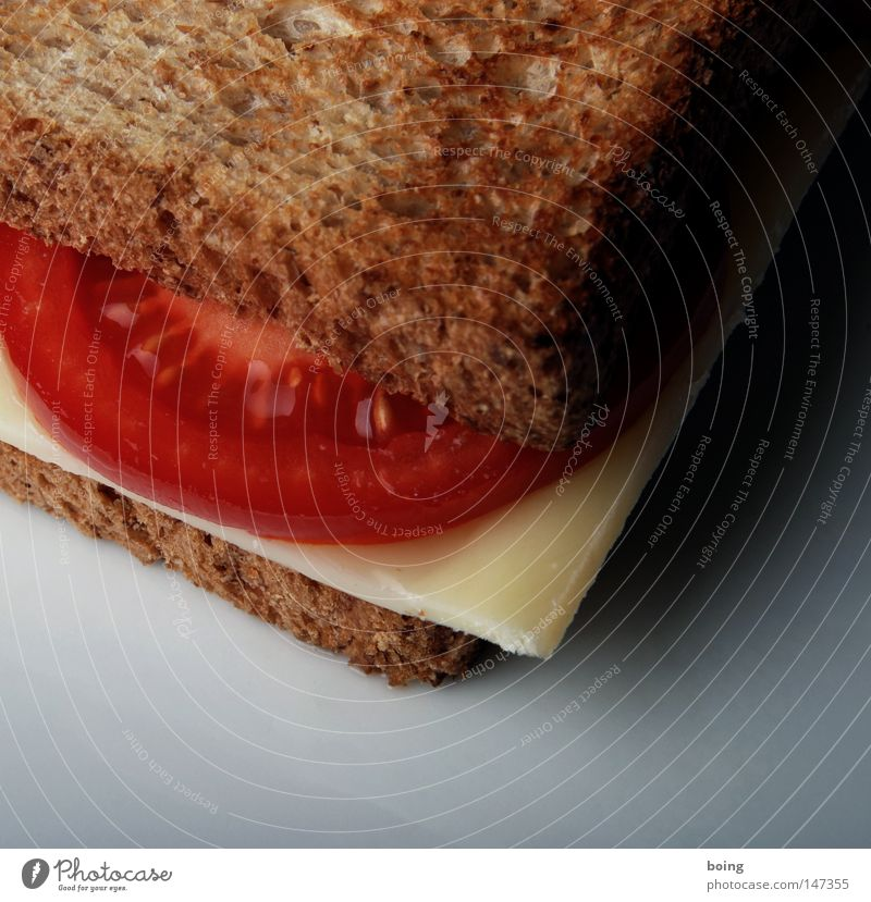 Breakfast Bread Dinner Tomato Cheese Quality Brunch Snack Sandwich Dairy Products Toast Dish Supplies Crisp Sliced cheese Swiss cheese