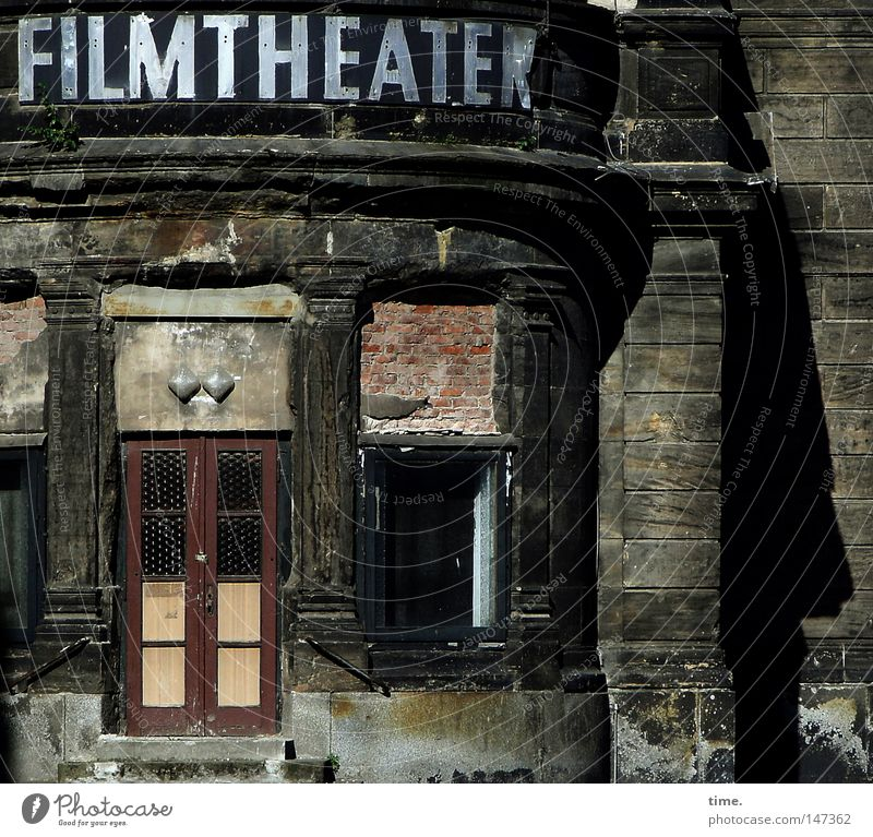 The Cheaper They Are The Better They Are Leisure and hobbies Stage play Culture Shows Cinema Ruin Wall (barrier) Wall (building) Window Door Landmark Monument