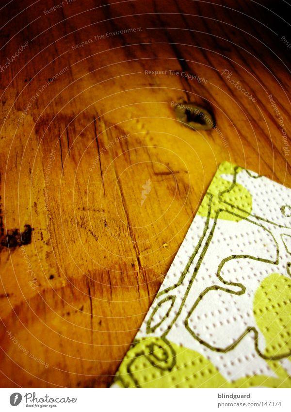 Party Minimalism Table Feasts & Celebrations Beer tent Screw Cross-head screw Slit Screwdriver Tabletop Wood Oak tree Event Gastronomy Beer garden