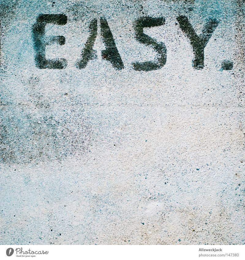 Wall (building) Graffiti Concrete Communicate Characters Simple Letters (alphabet) Opinion Easy Typography Word Barrier Plaster Language Task Spray
