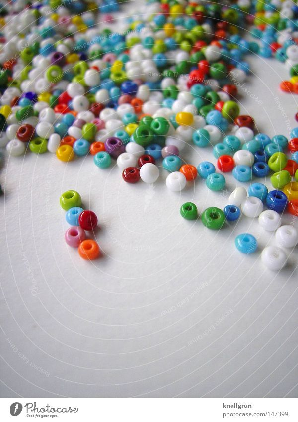 White Green Blue Red Orange Small Pink Multiple Round Leisure and hobbies Obscure Hollow Pearl Many Untidy