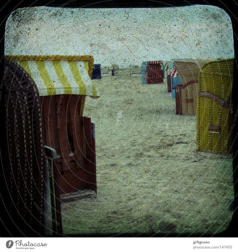 Ocean Summer Beach Vacation & Travel Relaxation Sand Coast Leisure and hobbies Beach chair Sandy beach