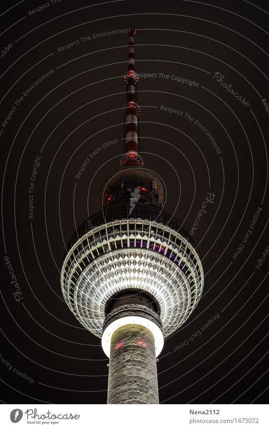 City Berlin Tall Round Historic Manmade structures Restaurant Landmark Capital city TV set Downtown Tourist Attraction Radio (device) Berlin TV Tower
