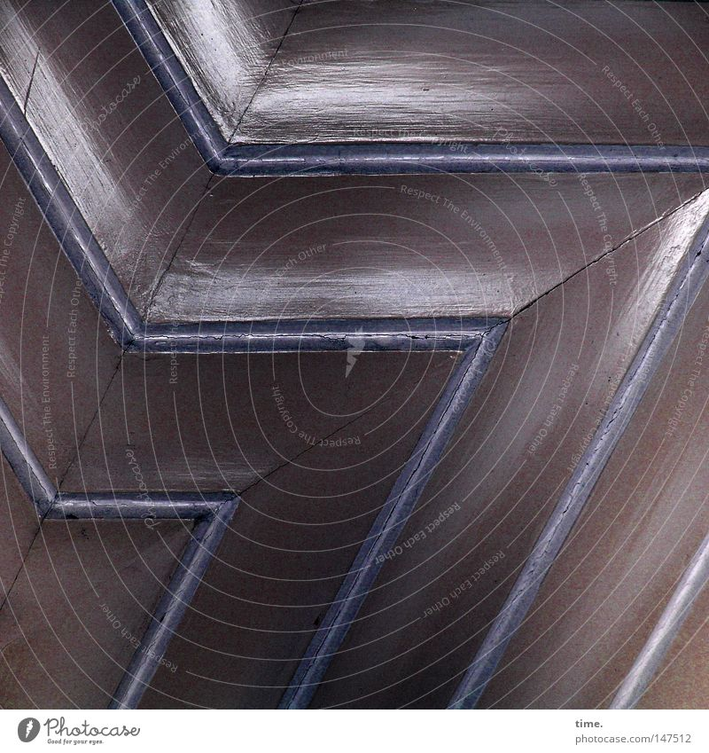 Blue Wood Line Door Corner Stripe Craft (trade) Historic Surface Symmetry Varnish Seam Parallel Prongs Light blue