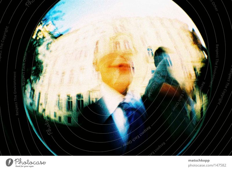 wedding party Fisheye Lomography Cross processing Distorted Falsified Analog Slide Marriage proposal Happy Kitsch Gritty Tie Blue Stripe Suit Jacket Vaulting