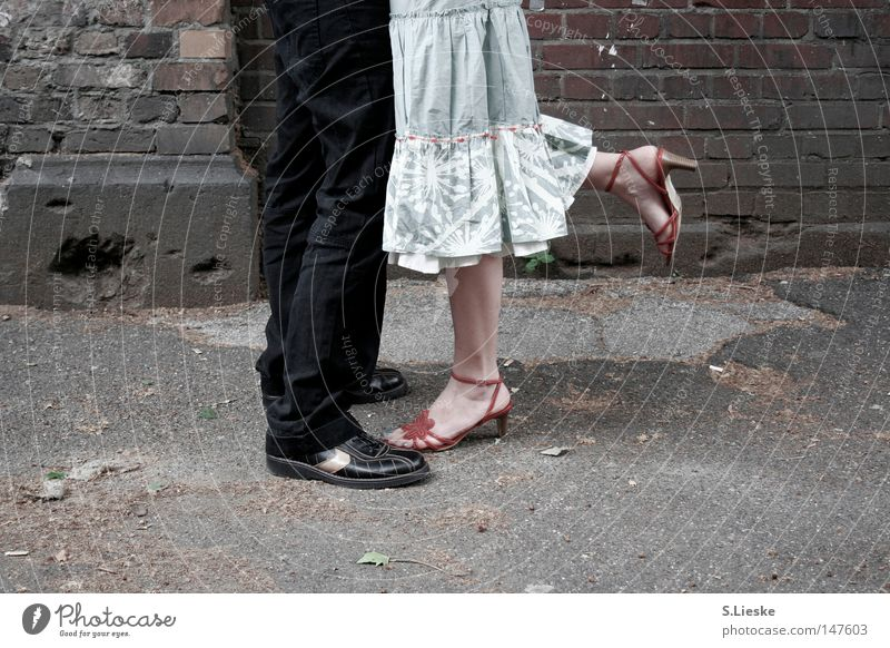 Love Feet Footwear Caresses Kissing Skirt Relationship Agree Encounter