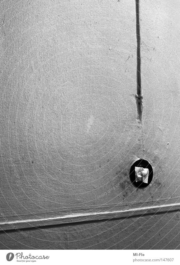 Fear Wallpaper Staircase (Hallway) Analog Panic Black & white photo Question mark Technology Light switch