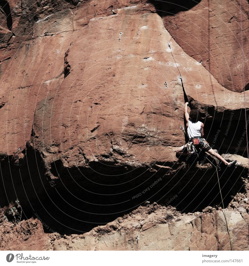 Human being Vacation & Travel Youth (Young adults) Joy 18 - 30 years Adults Mountain Movement Sports Freedom Rock Masculine Elegant Success Adventure Desire