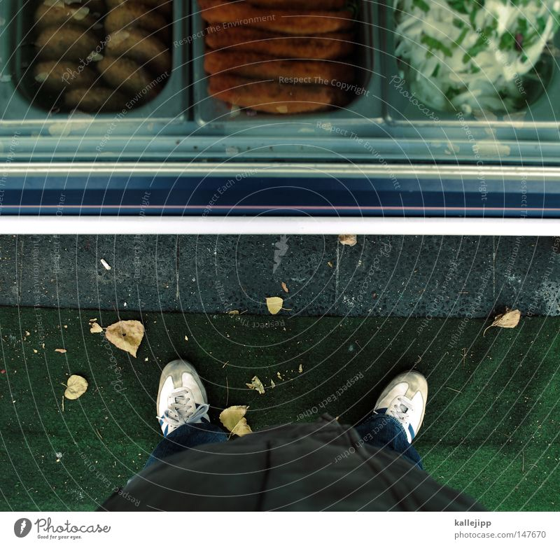 on the hand please Man Human being Perspective Legs Ego Looking Discover Vantage point Kebab Flat (apartment) Kiosk Stalls and stands Lunch Lunch hour Stand