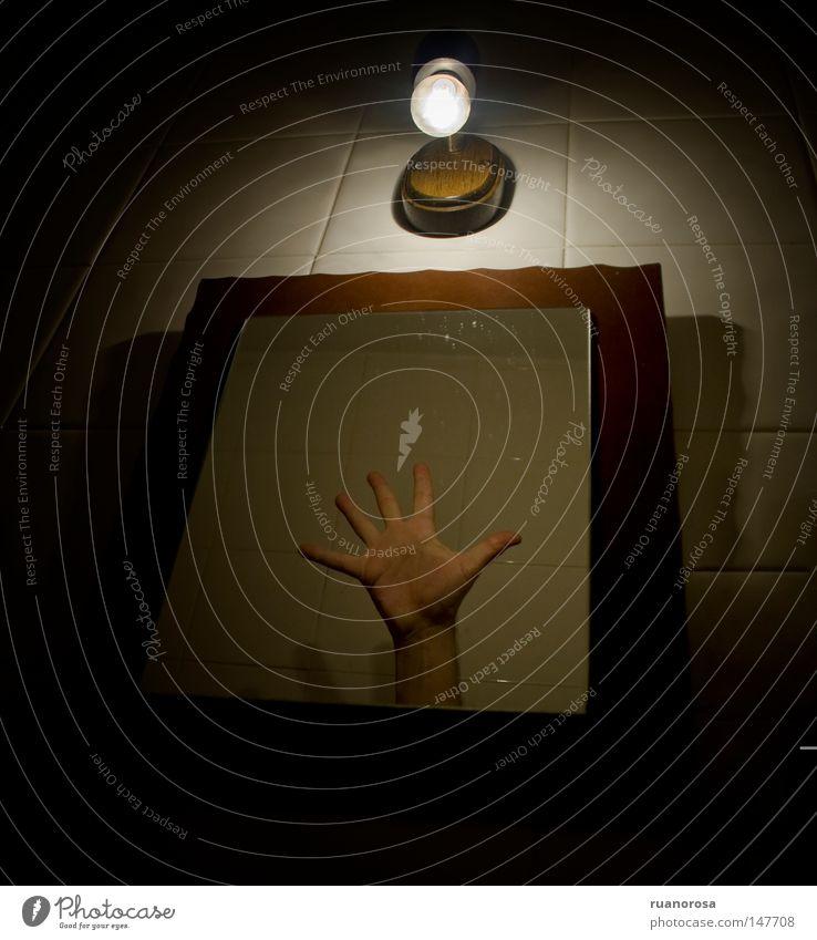 Catch Capture Hand Mirror Fingers Tile Jostle Dark Obscure Twilight Inferno Terror Disgust Foreign Strange Craft (trade)