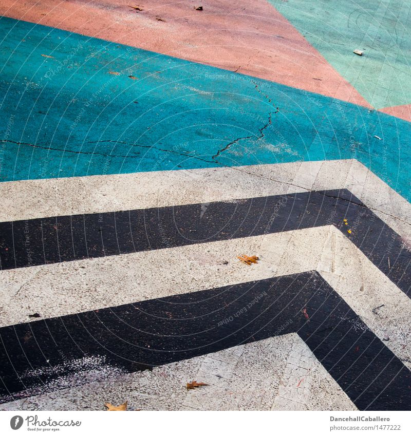 The wonderful world of geometry l 6 Line Graphic Stripe Illustration Background picture Design Geometry Arrangement Creativity Play of colours Colour Modern