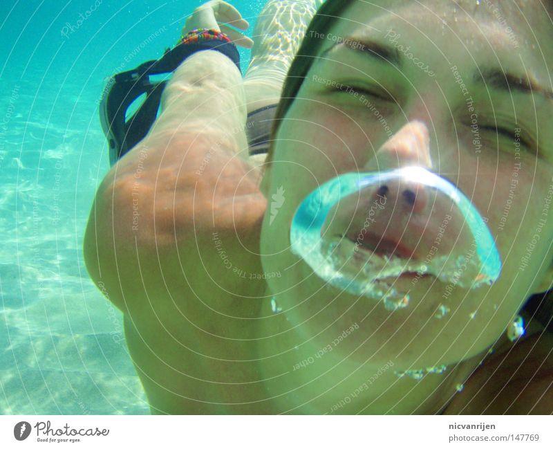 Water Ocean Spain Dive Bubble Turquoise Air bubble Majorca