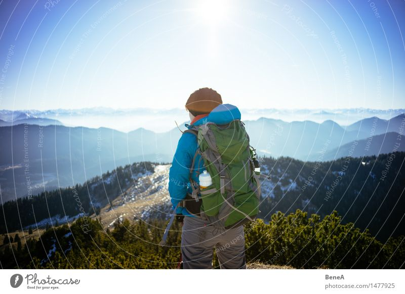 mountain Vacation & Travel Trip Expedition Summer Winter Snow Mountain Hiking Climbing Mountaineering Sportsperson Human being Feminine Woman Adults 1