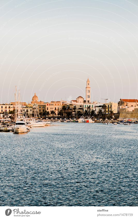 Around the World: Bari around the world Vacation & Travel Travel photography Discover Tourism Italy Apulia Bay Harbour Church Old town