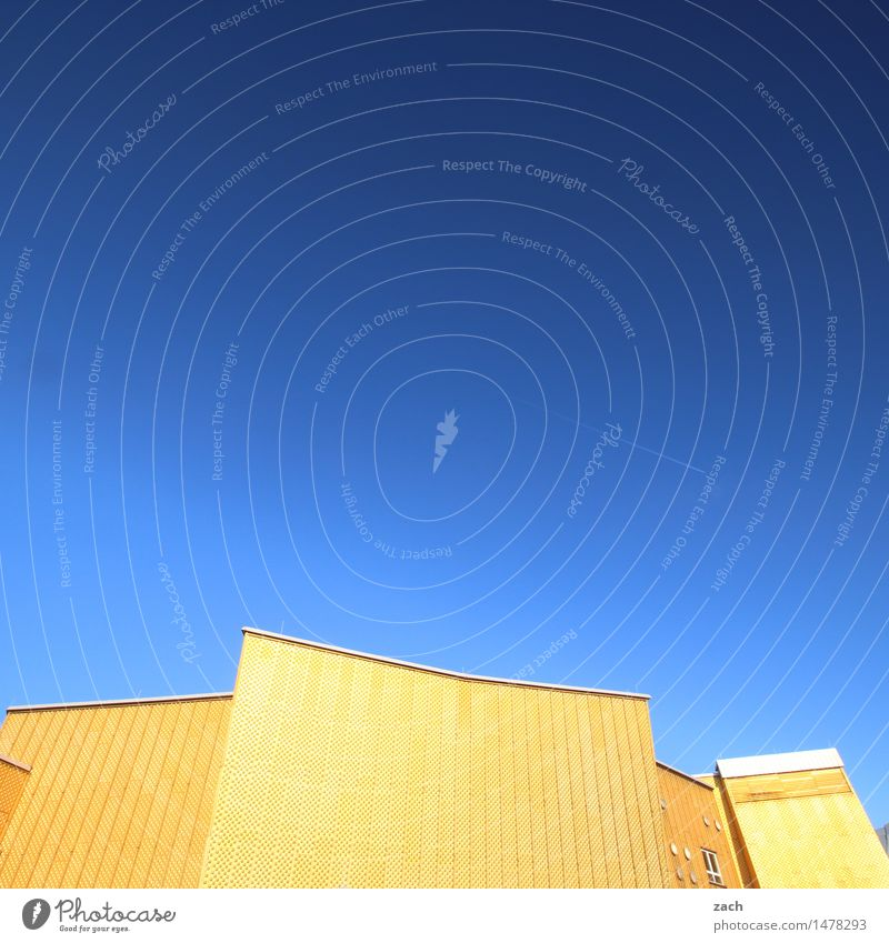 Much harmony Music Stage Opera house Orchestra Sky Berlin Town Downtown Manmade structures Architecture Berlin Philharmonic Facade Tourist Attraction Landmark