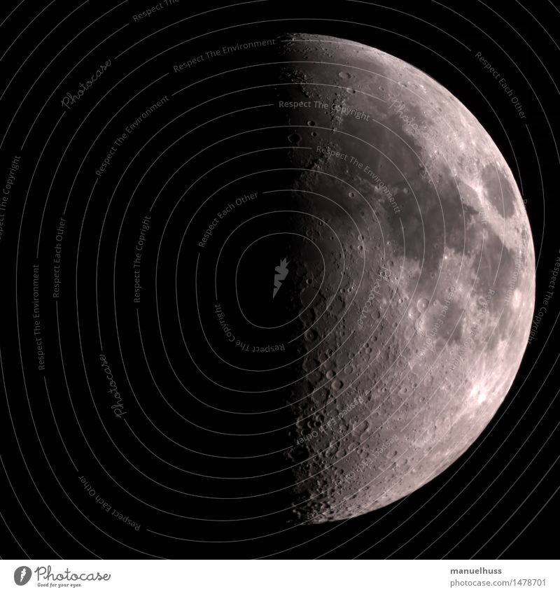 crescent Night sky Moon Large Black White Science & Research Astronautics Dark Telescope Zoom effect Detail Humble Universe Mountain Exterior shot Colour photo