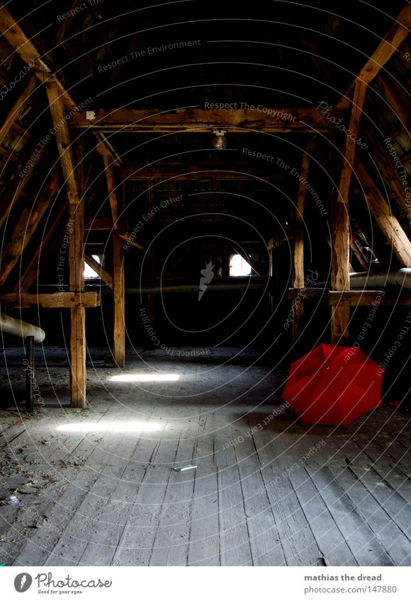 Old Beautiful Red Loneliness Calm Death Dark Window Cold Wall (building) Warmth Wood Line Rain Weather Door