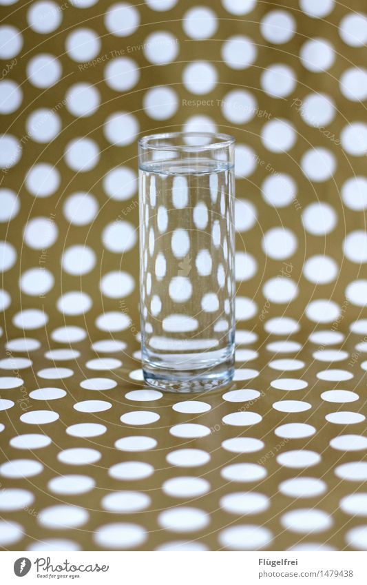 different perspective Beverage Green Glass Tumbler Distorted Point Spotted Pattern Gift wrapping Perspective Symmetry Oval Magnifying glass Vista Colour photo