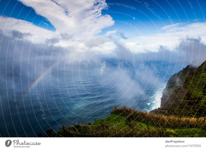 Small Rainbow Vacation & Travel Tourism Trip Far-off places Freedom Waves Hiking Environment Nature Landscape Plant Animal Elements Drops of water Winter