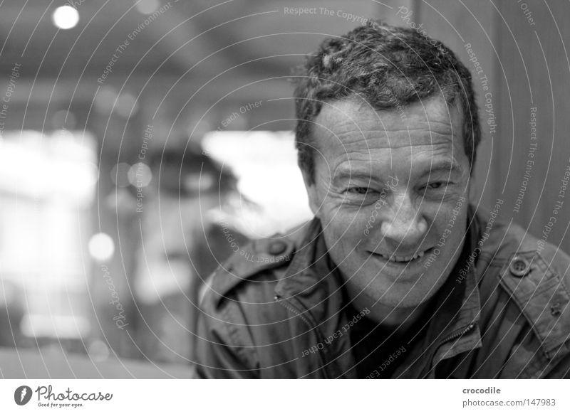 Man Old Joy Portrait photograph Laughter Funny Masculine Nose Jacket Facial hair