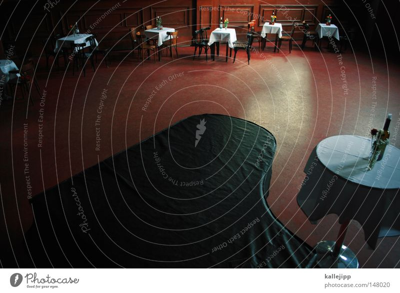 Red Movement Music Dance Room Design Dance event Table Circle Retro Ball In pairs Round Romance Bar Restaurant