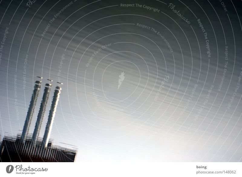 Line Waves Wind Energy Industry Electricity River Industrial Photography Tower Stripe Pipe Monument Main Landmark Chimney Flow