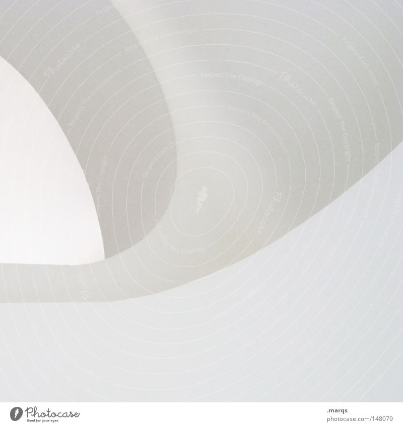 Arc White Gray Line Bright Architecture Corner Round Clean Abstract Logo Minimal Sterile