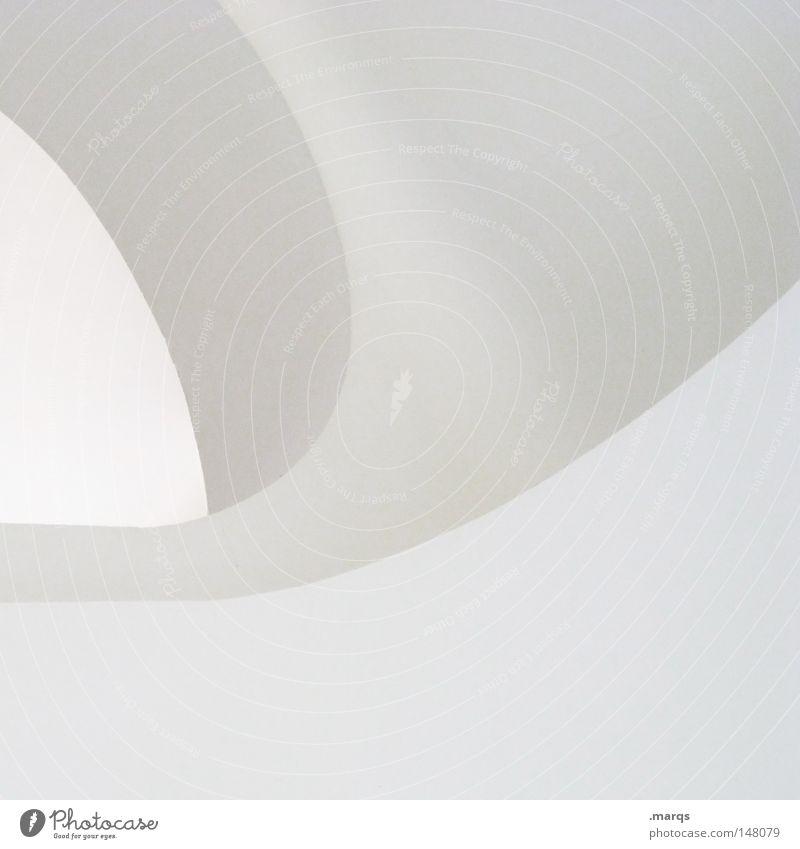 White Gray Line Bright Architecture Corner Round Clean Abstract Logo Minimal Sterile