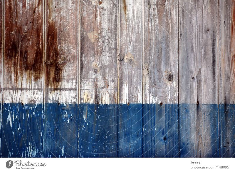 From the window of my house... Wood Wall (building) Billboard Fence Wooden board Detail Colour Blue