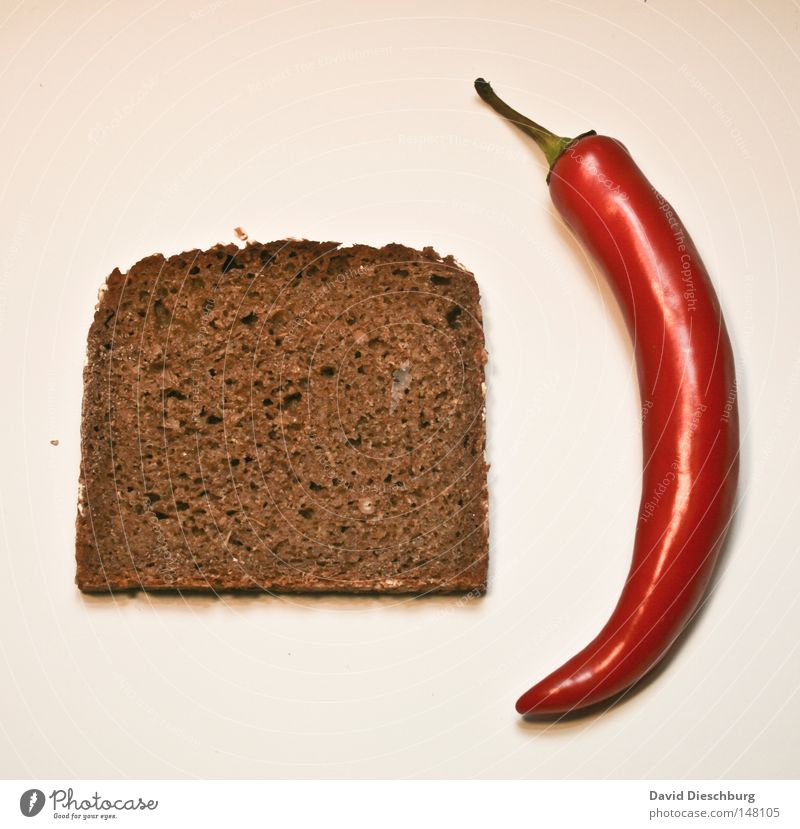Green Red Nutrition Healthy Tangy Grain Herbs and spices Vegetable Bread Slice Baked goods Poison Cut Wheat Neutral Chili